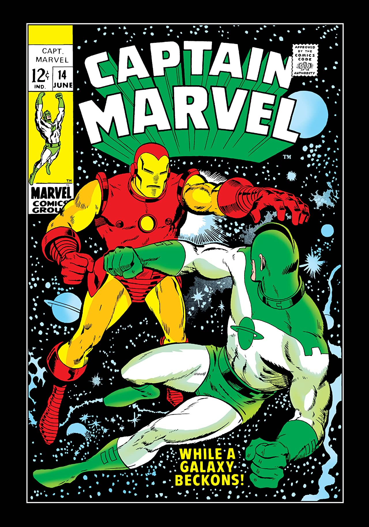 Captain Marvel (1968-1979) #14