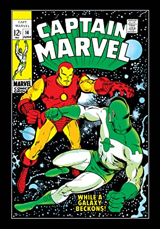 Captain Marvel (1968-1979) No.14