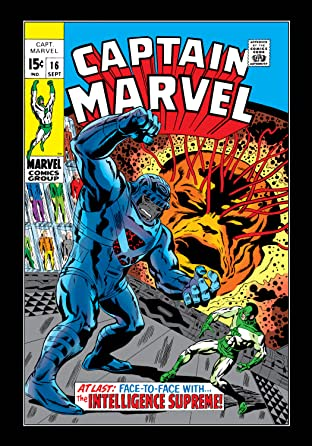 Captain Marvel (1968-1979) No.16
