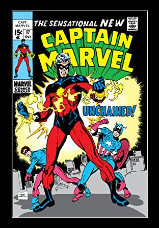 Captain Marvel (1968-1979) No.17