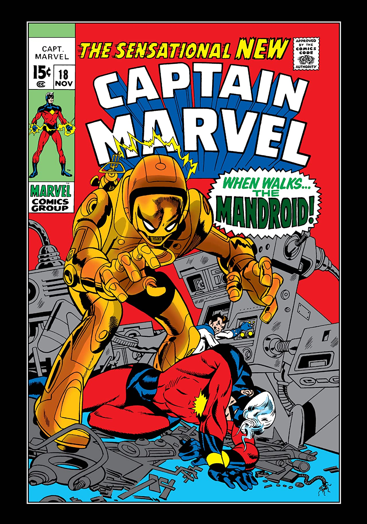 Captain Marvel (1968-1979) #18