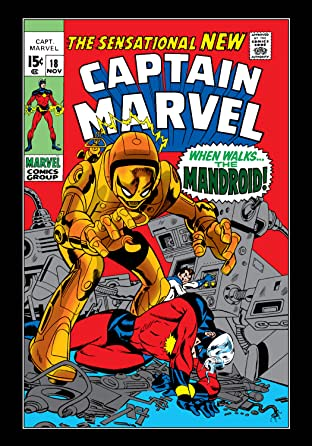 Captain Marvel (1968-1979) No.18