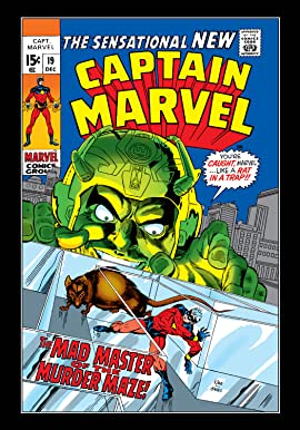 Captain Marvel (1968-1979) #19