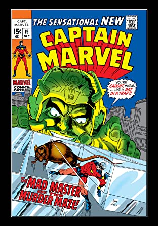 Captain Marvel (1968-1979) No.19