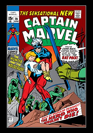 Captain Marvel (1968-1979) No.20