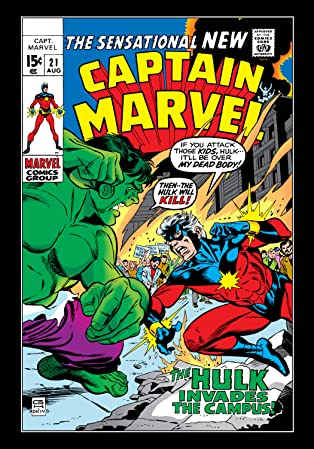 Captain Marvel (1968-1979) #21