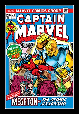 Captain Marvel (1968-1979) #22