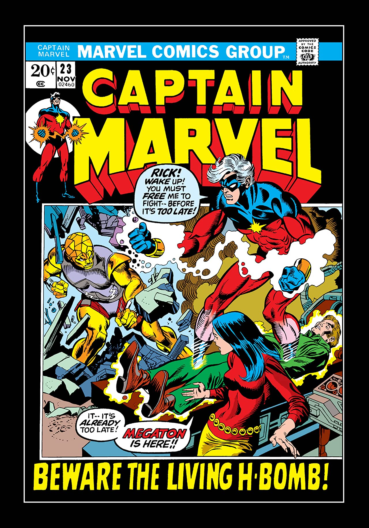 Captain Marvel (1968-1979) #23