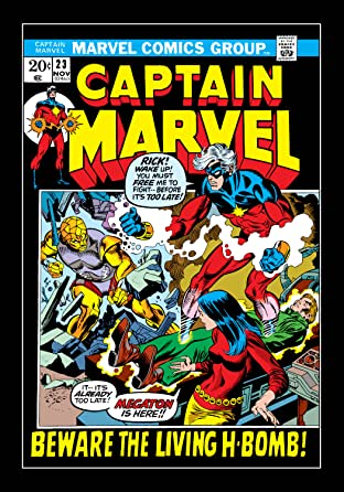 Captain Marvel (1968-1979) No.23
