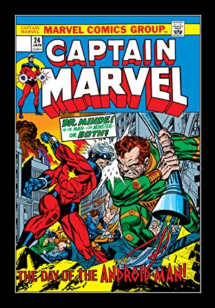 Captain Marvel (1968-1979) No.24