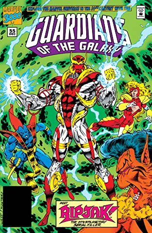 Guardians of the Galaxy (1990-1995) #55