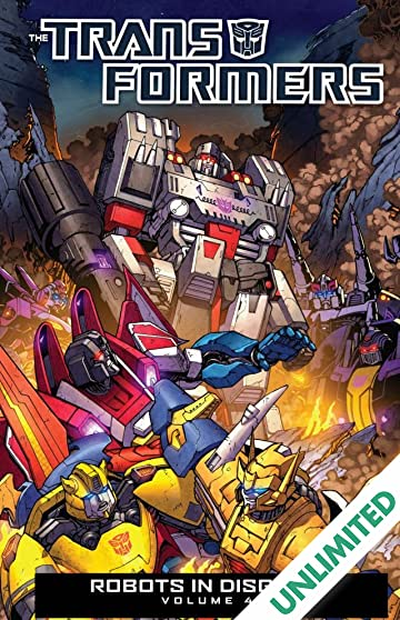 Transformers: Robots In Disguise (2011-2016) Vol. 4