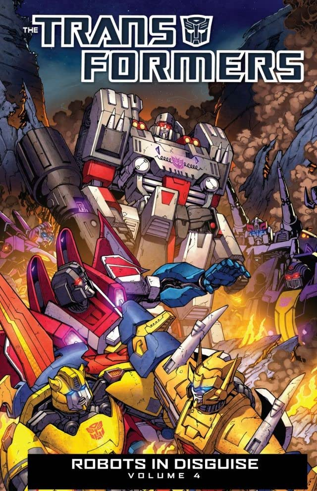 Transformers: Robots In Disguise (2011-) Vol. 4