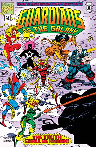 Guardians of the Galaxy (1990-1995) #57