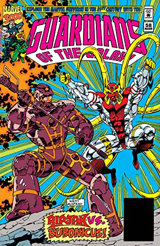 Guardians of the Galaxy (1990-1995) #58
