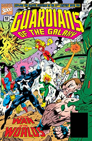 Guardians of the Galaxy (1990-1995) #62