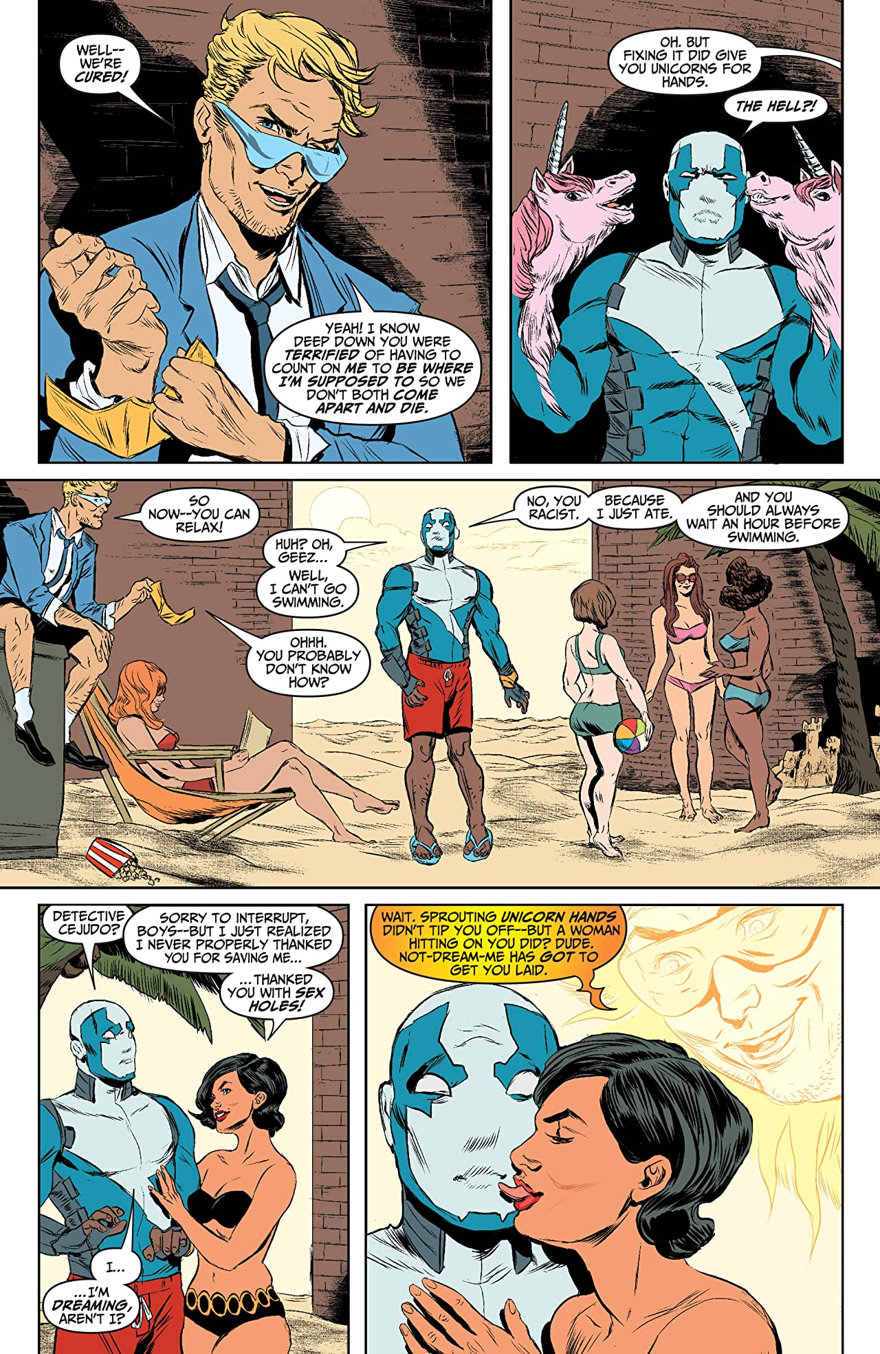 Quantum and Woody (2013- ) #5: Digital Exclusives Edition
