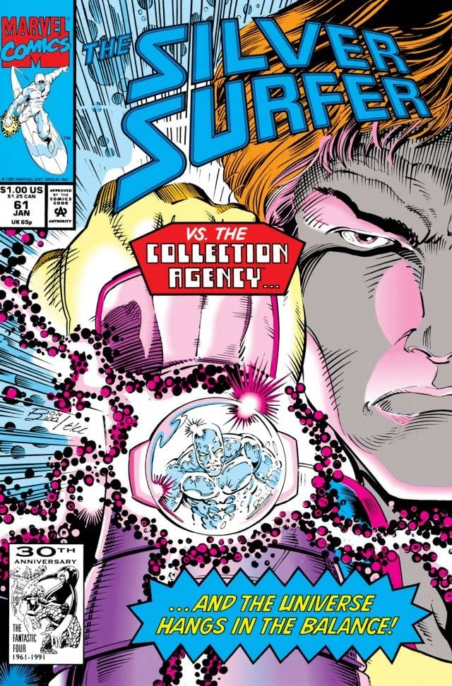 Silver Surfer (1987-1998) #61