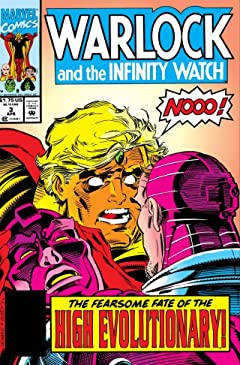 Warlock and the Infinity Watch (1992-1995) No.3