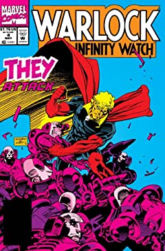 Warlock and the Infinity Watch (1992-1995) No.4