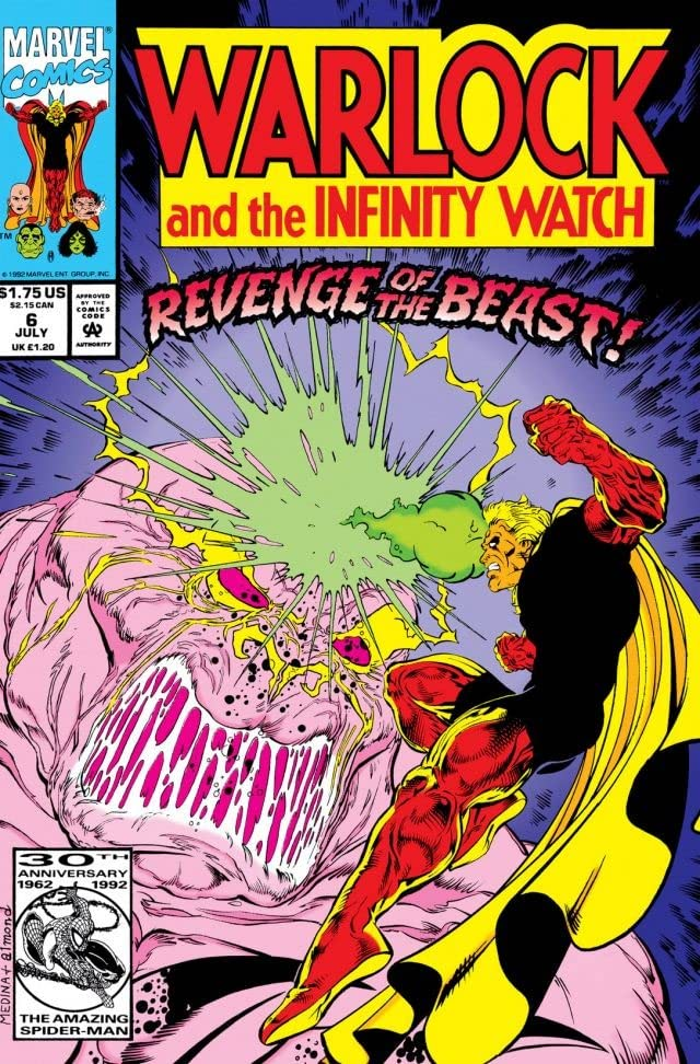 Warlock and the Infinity Watch (1992-1995) #6