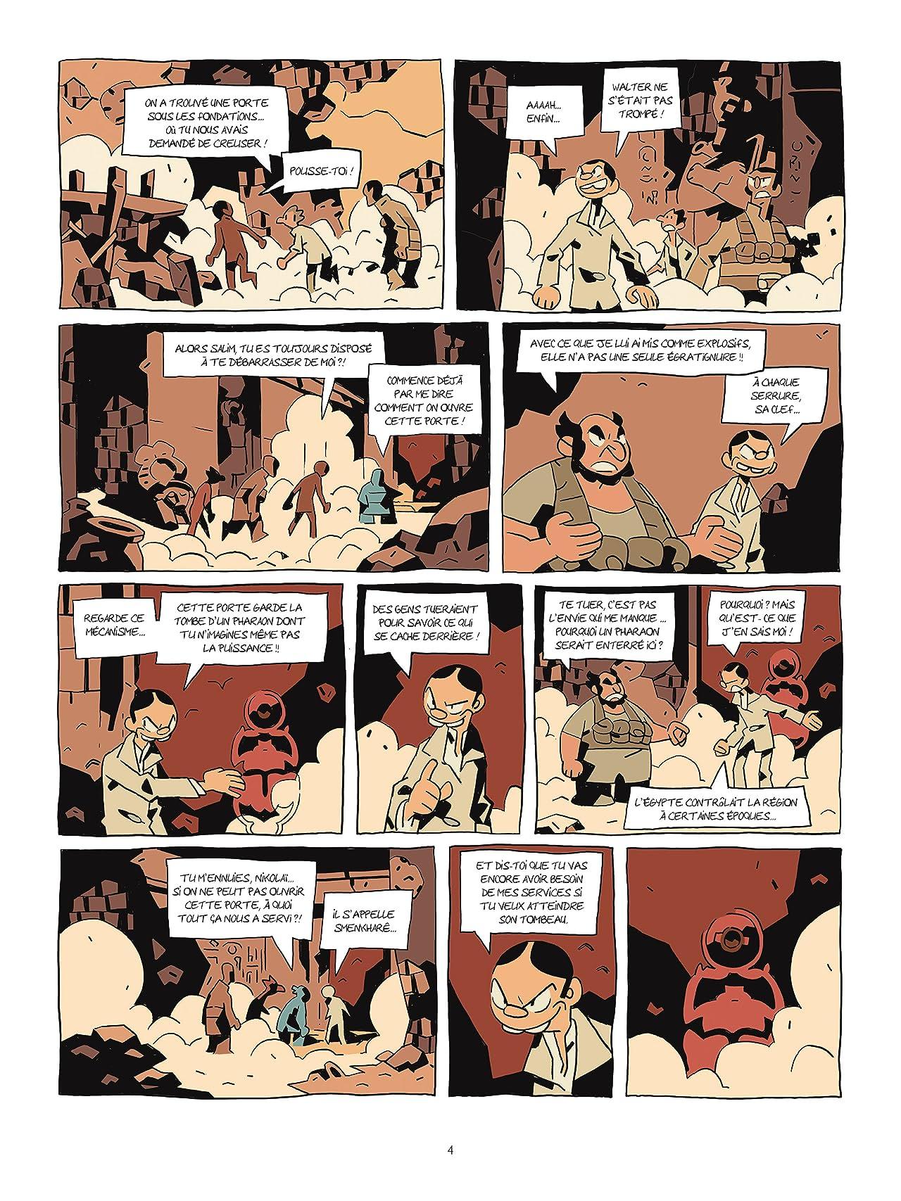 Les archéologues de l'interdit Vol. 1: La malédiction de Smenkharê