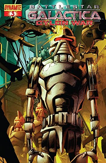 Battlestar Galactica: Cylon War #3 (of 4)