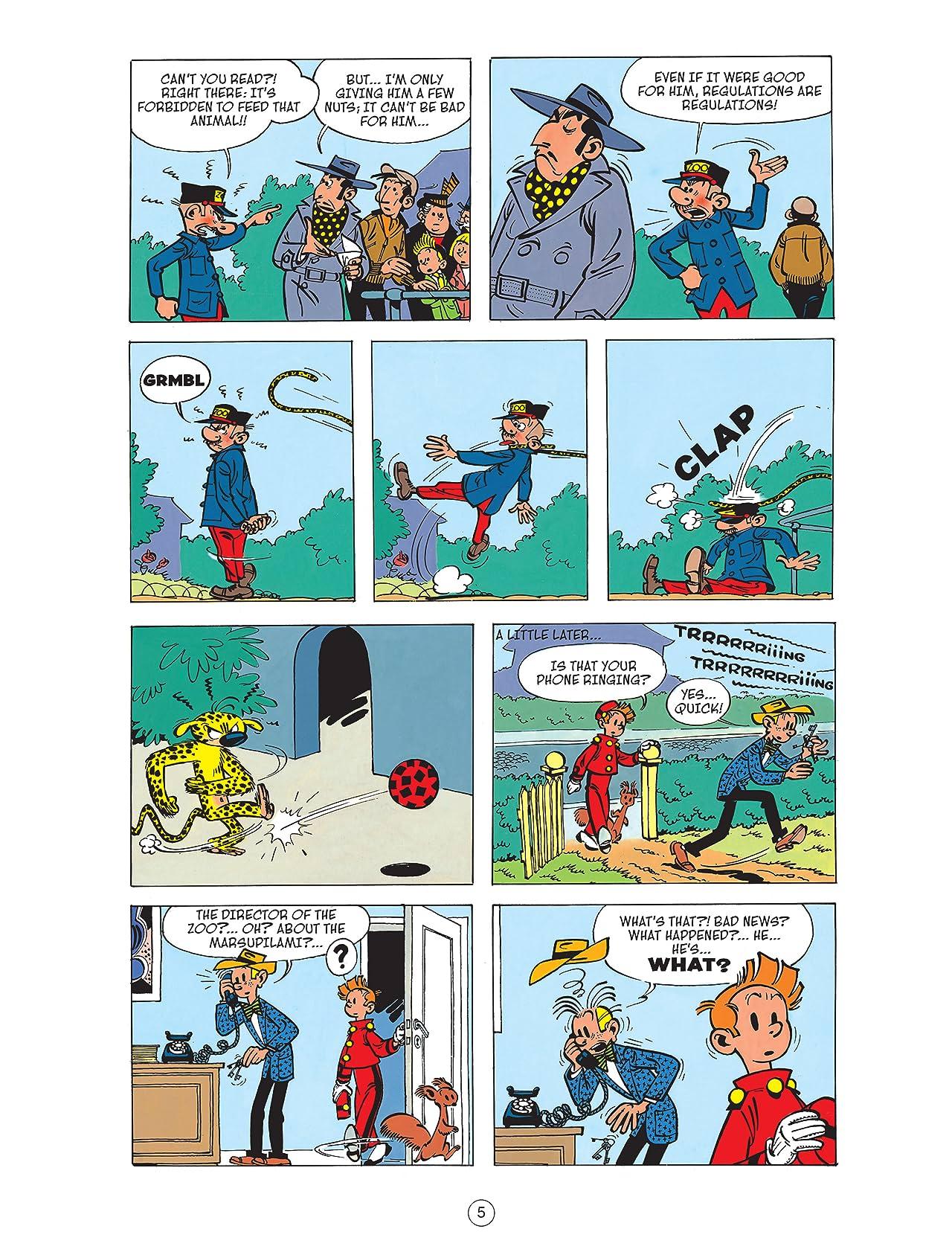 Spirou & Fantasio Vol. 5: The Marsupilami Thieves