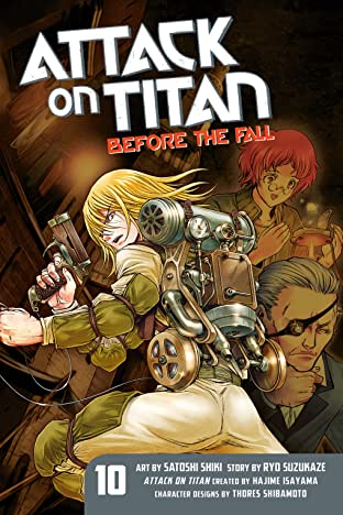 Attack on Titan: Before the Fall Tome 10