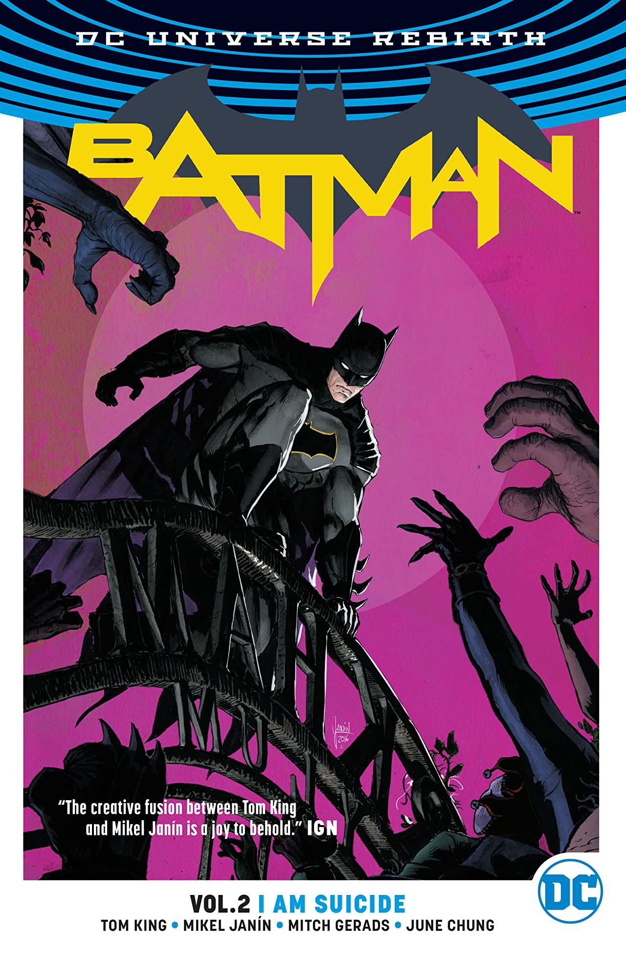 Batman (2016-) Tome 2: I Am Suicide