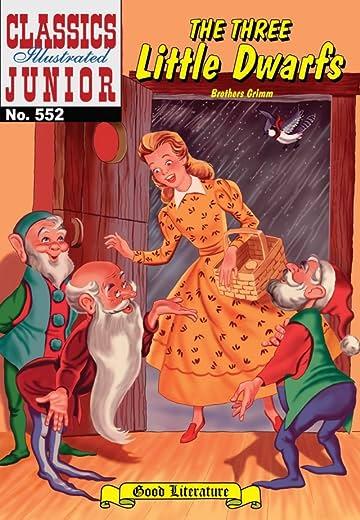 Classics Illustrated Junior #552: The Three Little Dwarfs