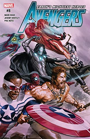 Avengers (2016-2018) No.8