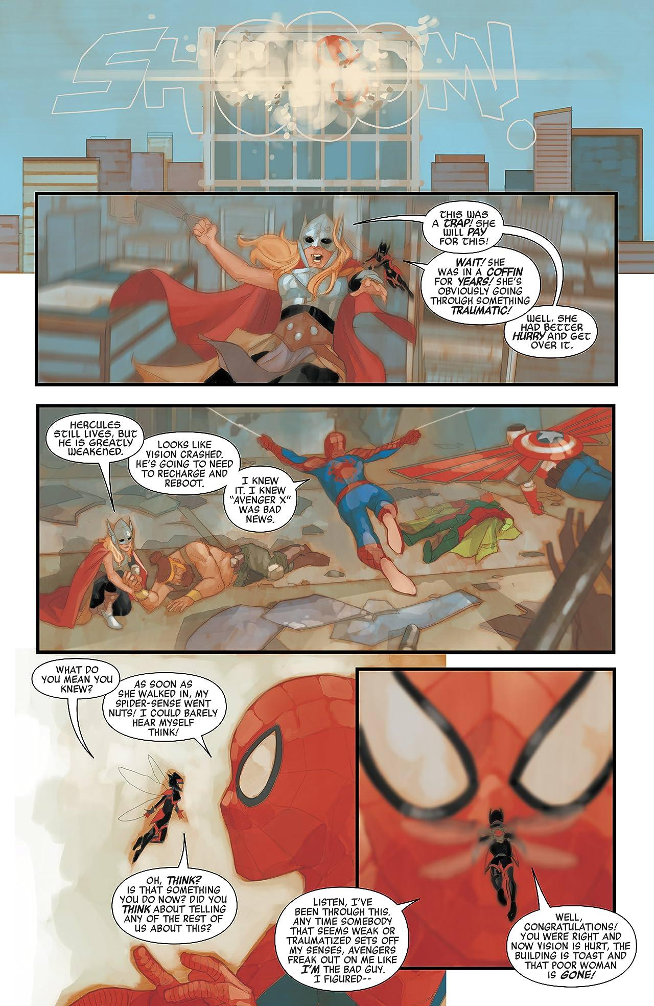 Avengers (2016-) #8