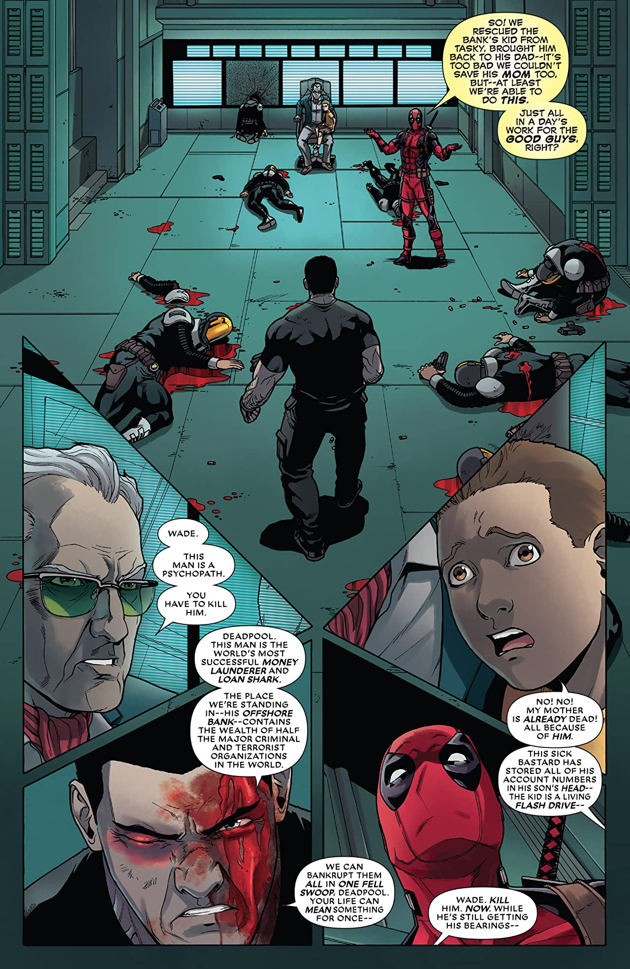 Deadpool vs. The Punisher (2017) #5 (of 5)