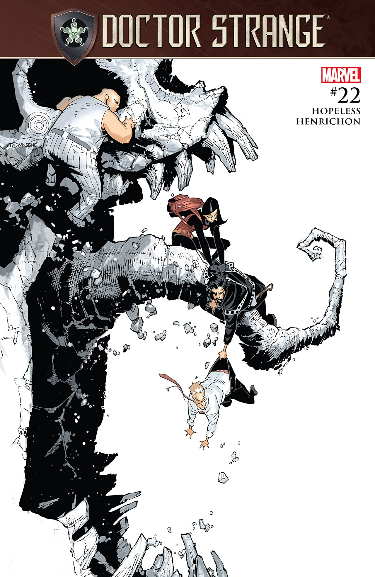 Doctor Strange (2015-) #22