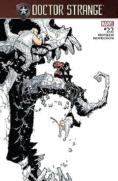 Doctor Strange (2015-2018) #22