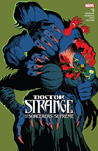 Doctor Strange and the Sorcerers Supreme (2016-) #9