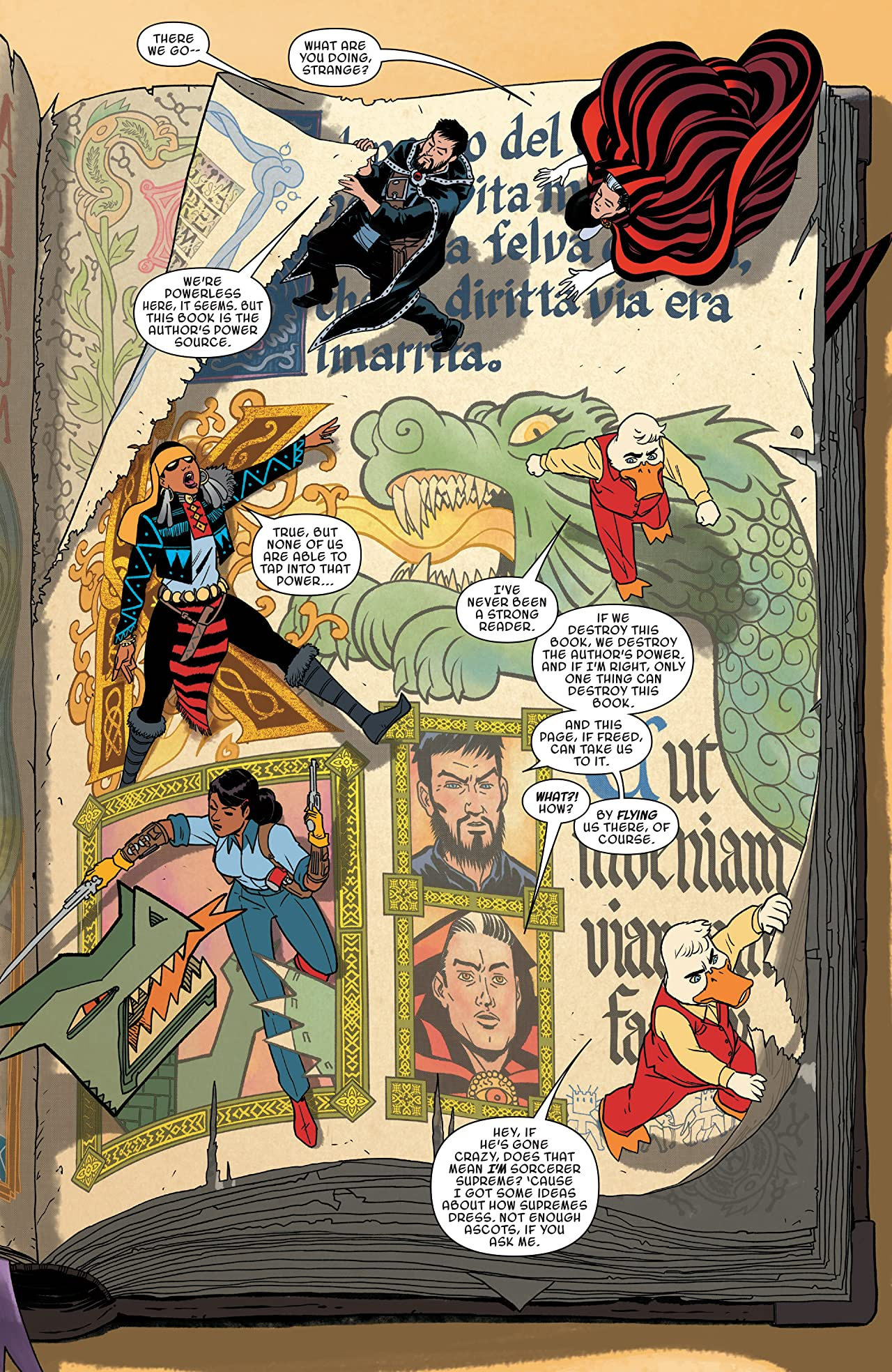 Doctor Strange and the Sorcerers Supreme (2016-2017) #9