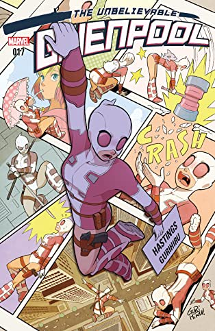 Gwenpool, The Unbelievable (2016-2018) #17
