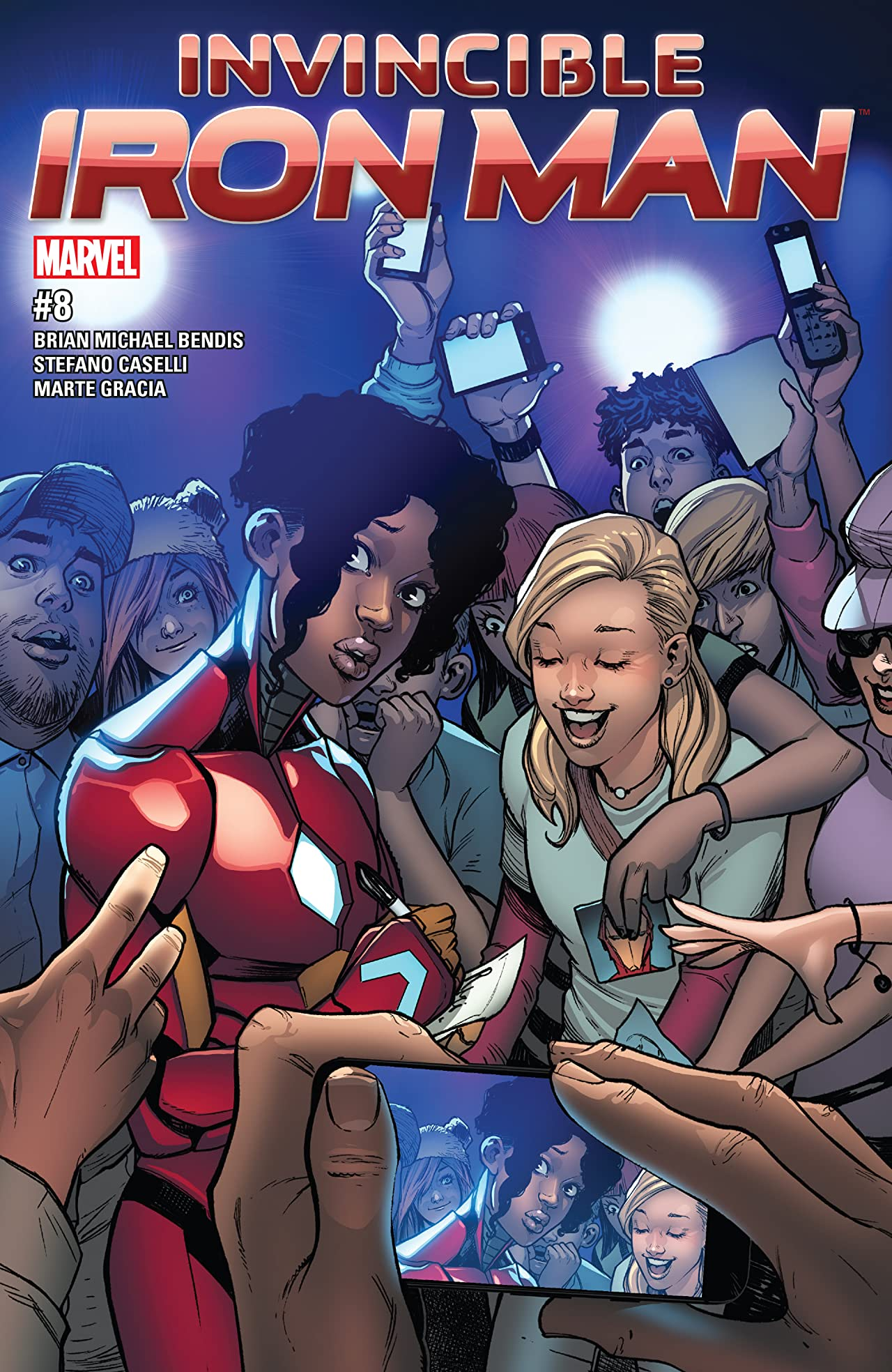 Invincible Iron Man (2016-) #8