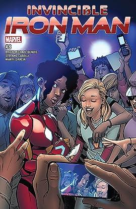 Invincible Iron Man (2016-2018) #8