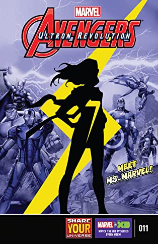 Marvel Universe Avengers: Ultron Revolution (2016-2017) #11