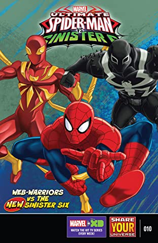 Marvel Universe Ultimate Spider-Man vs. The Sinister Six (2016-2017) #10