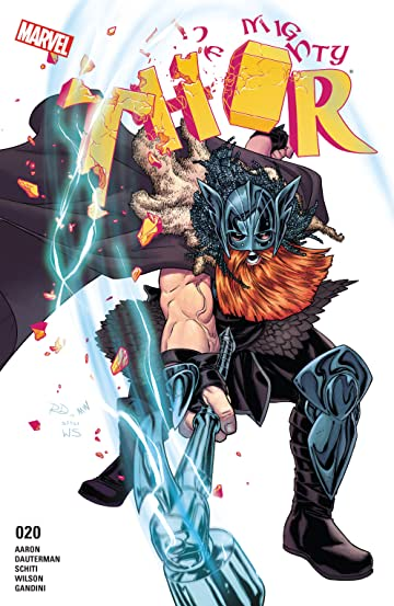 The Mighty Thor (2015-2018) #20