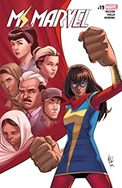 Ms. Marvel (2015-) #19