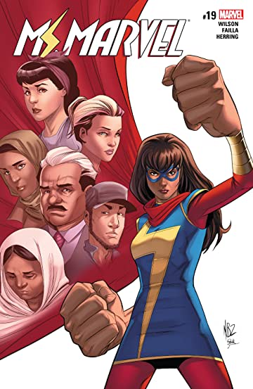 Ms. Marvel (2015-) #19