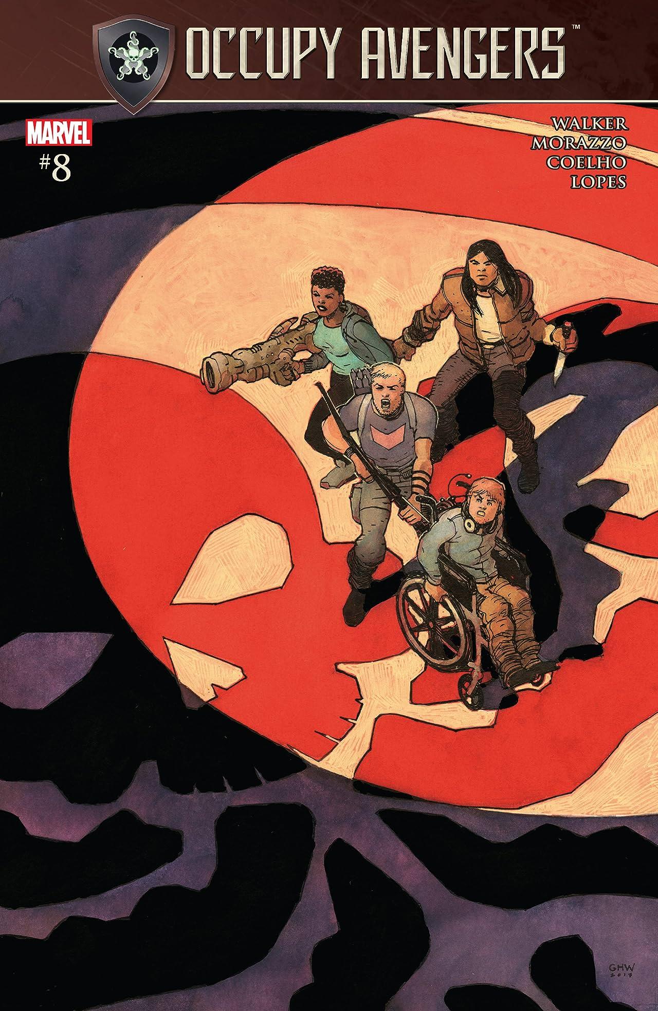 Occupy Avengers (2016-2017) #8