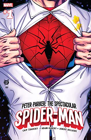Peter Parker: The Spectacular Spider-Man (2017-2018) #1