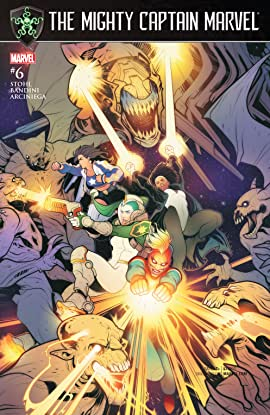 The Mighty Captain Marvel (2016-2017) #6