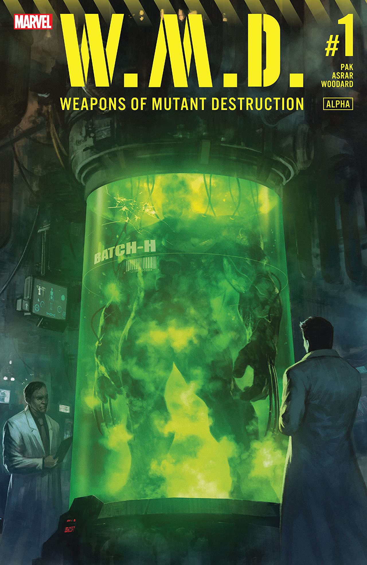 Weapons of Mutant Destruction (2017) #1